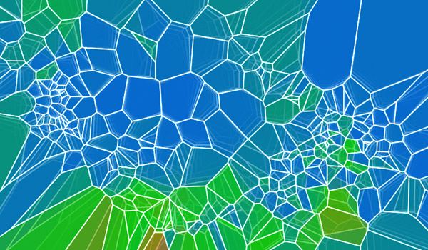 Very nice voronois creativejs play with voronoi experiment ccuart Image collections